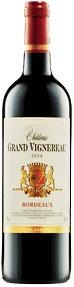 Vinto Tinto Francês Bordeaux Château Grand Vignereau