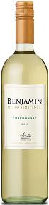 Vinho Branco Argentino Benjamin Chardonnay
