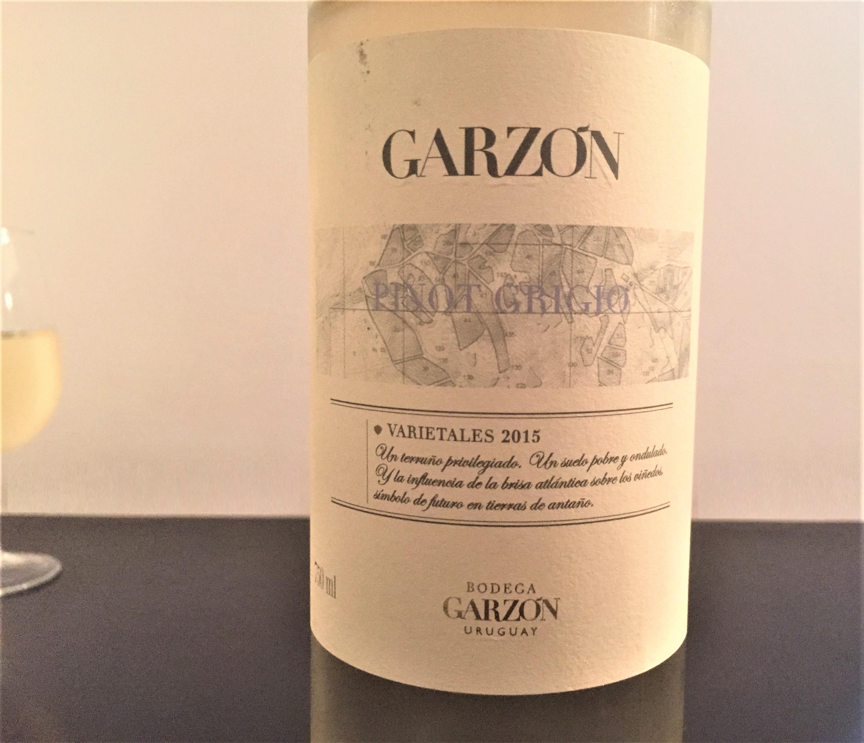 Vinho branco Garzon Pinot Grigio