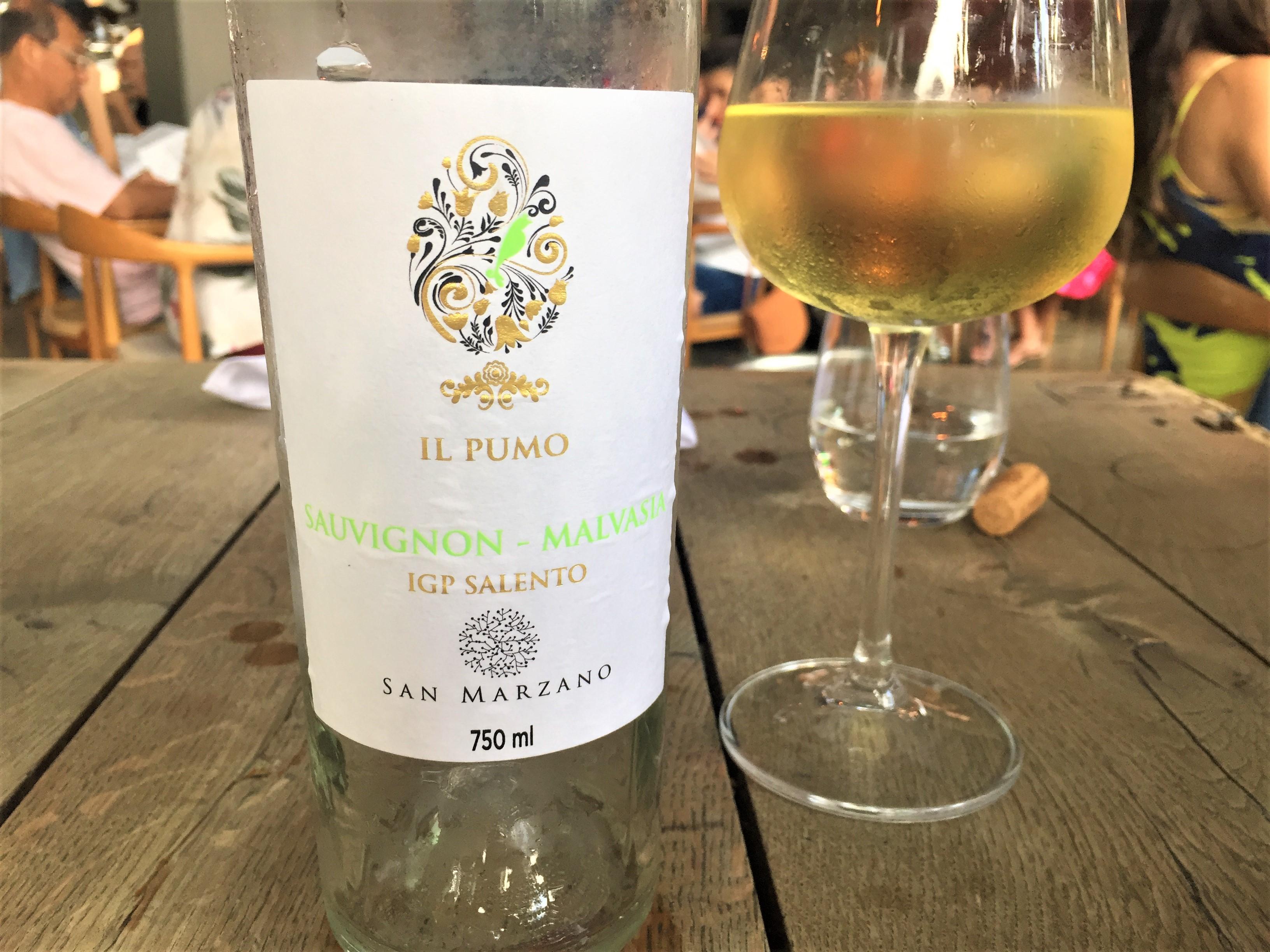 Il Pumo SAuvignon Blanc Malvasia