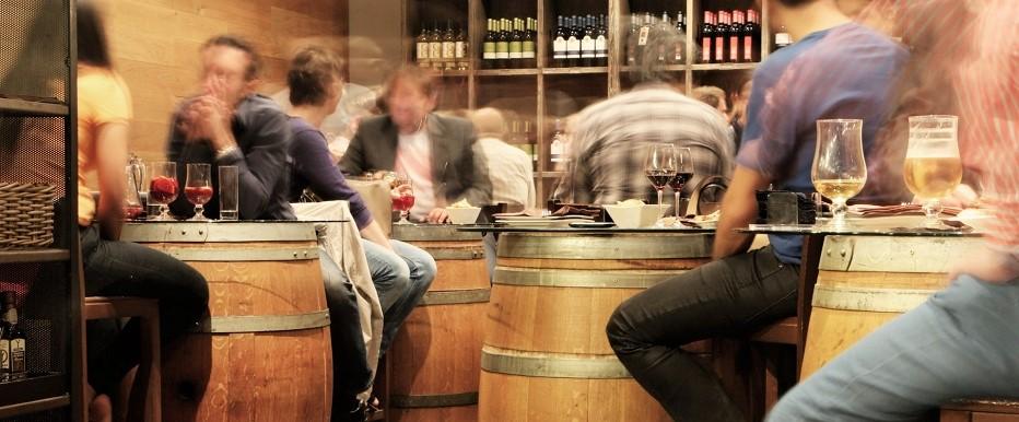 Bares e restaurantes vinho natural