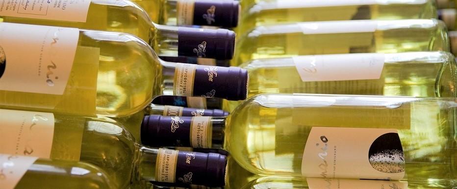 Venda de vinhos no país
