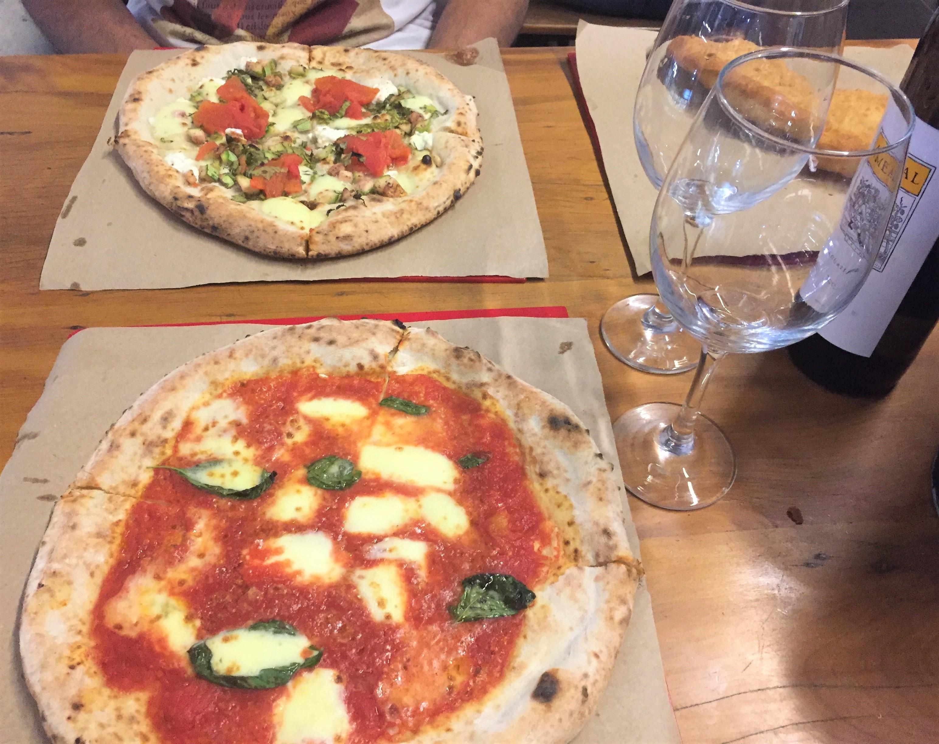 Harmonização vinho verde branco e pizza