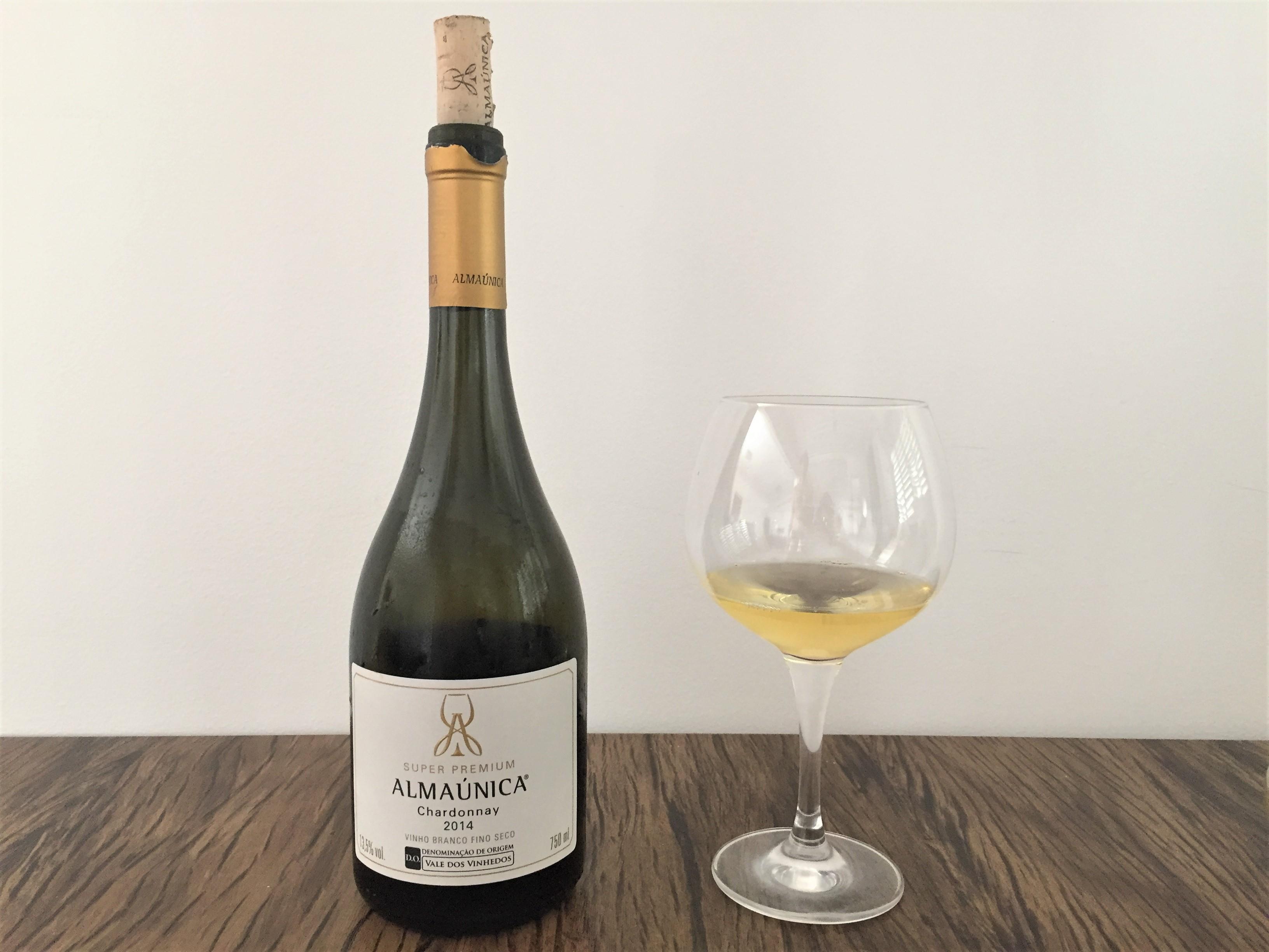 Vinho Branco Almaúnica Chardonnay