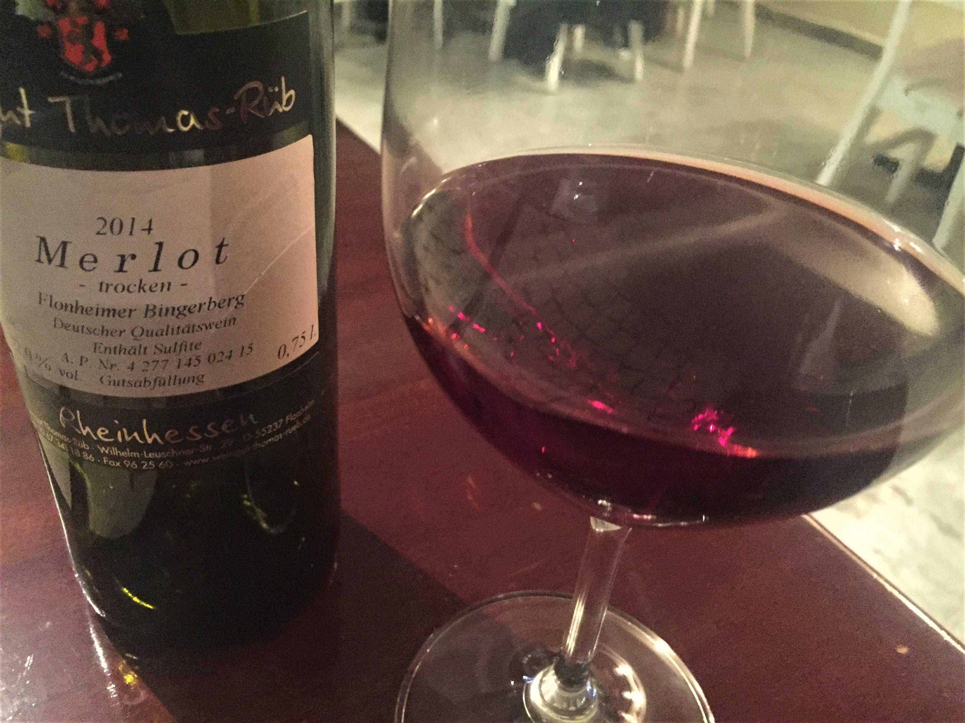 Weingut Thomas Rub Weinkeller Merlot