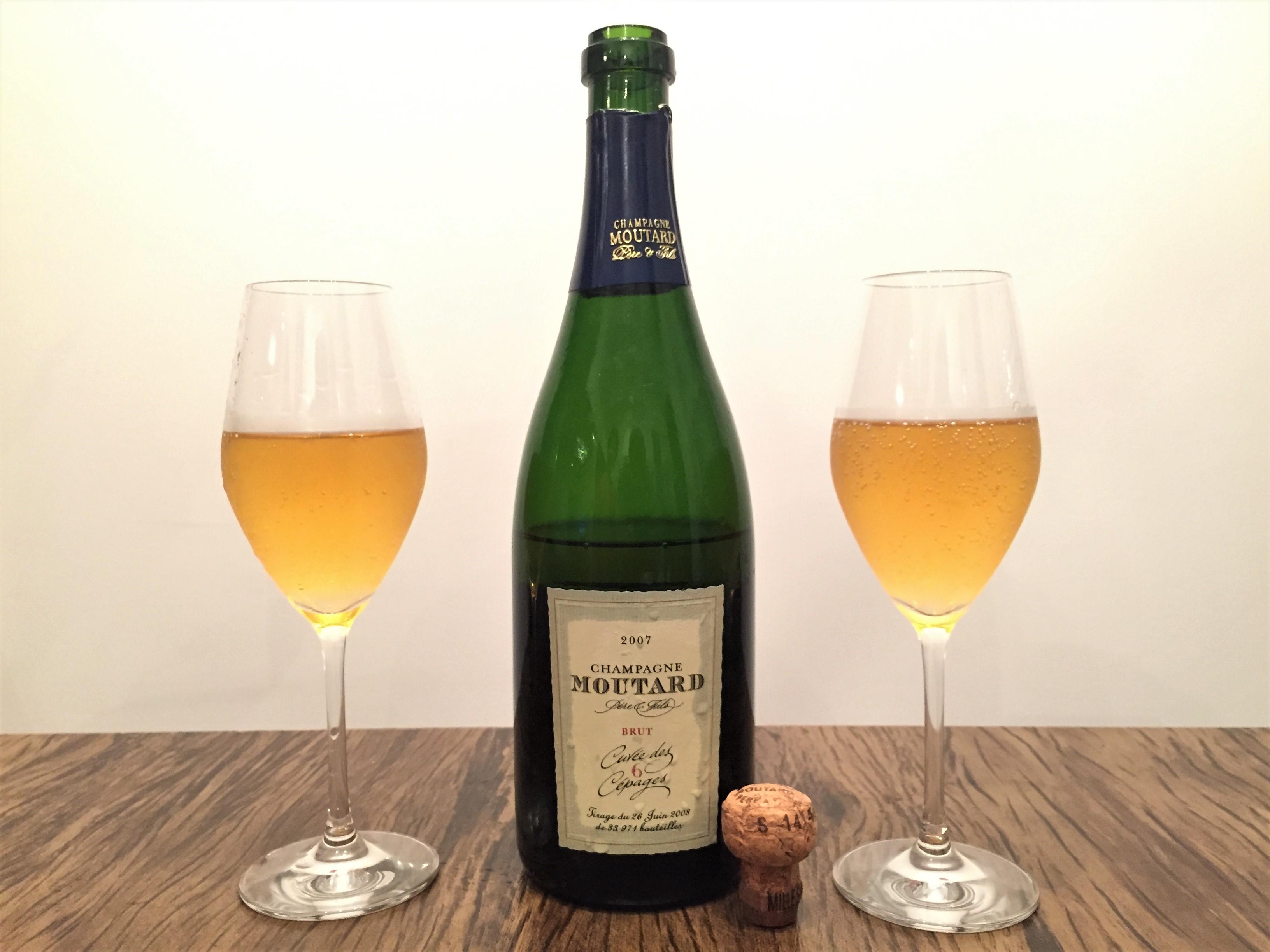 Champanhe Moutard Cuvée 6 Cépages Brut 2007