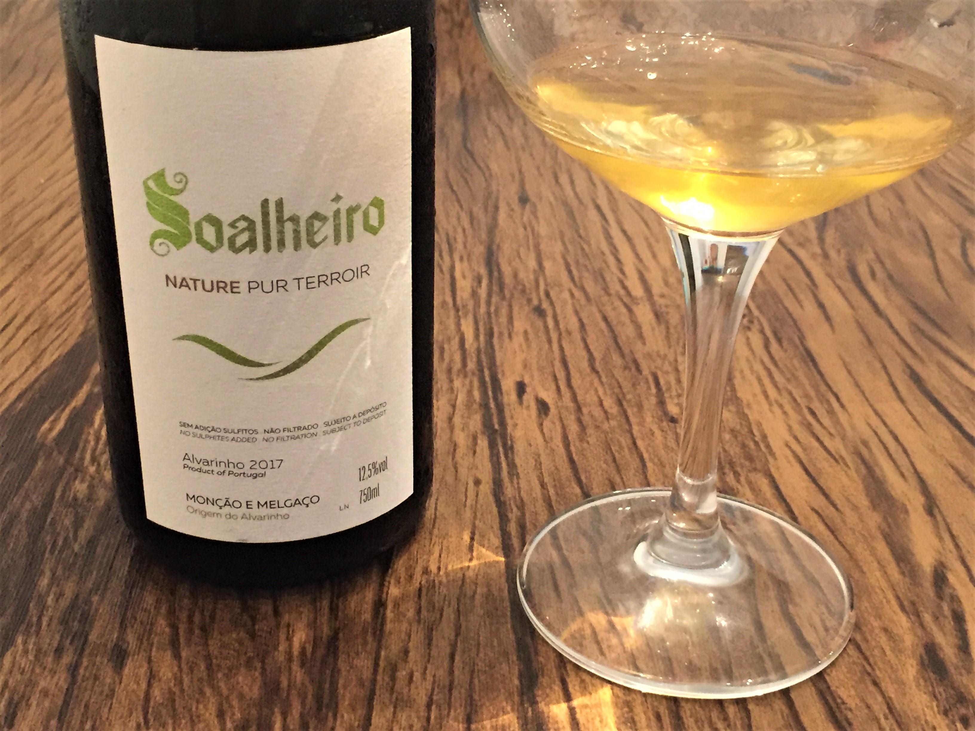 Vinho verde Soalheiro Nature Pur Terroir