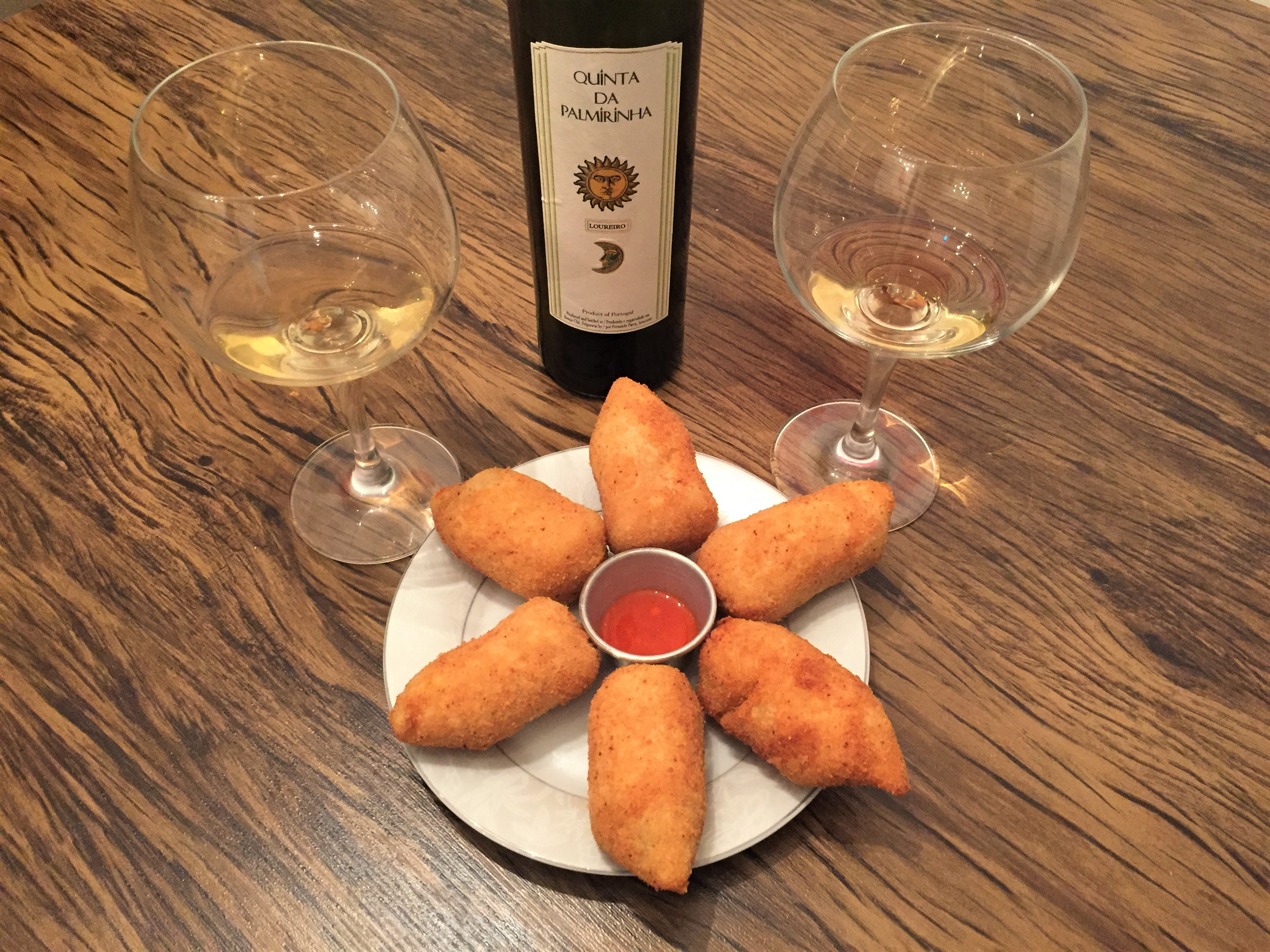 Harmonização vinho branco natural