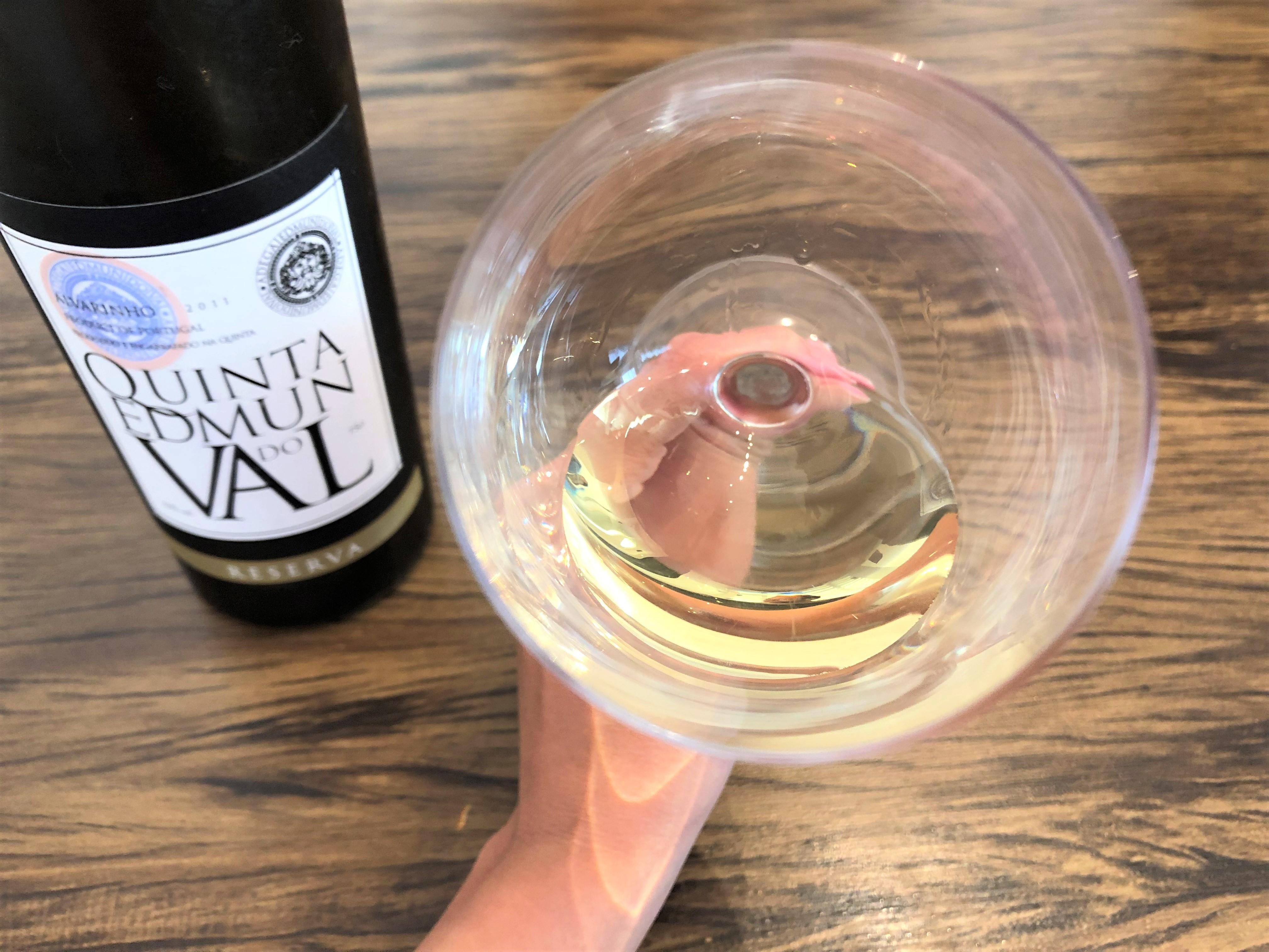 Edmun do Val Alvarinho vinho verde rico nos aromas e no sabor