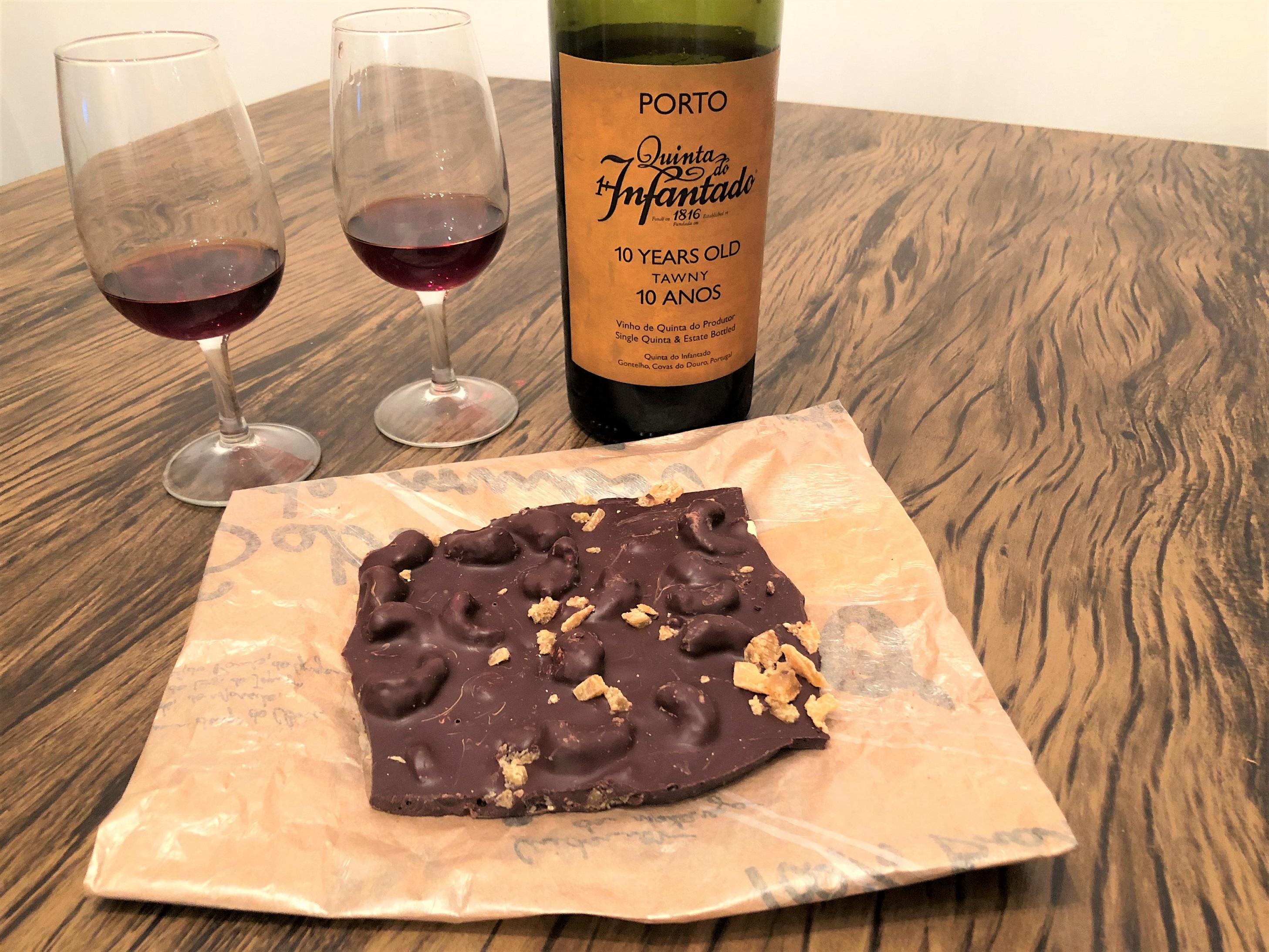 Harmonização vinho do Porto chocolate
