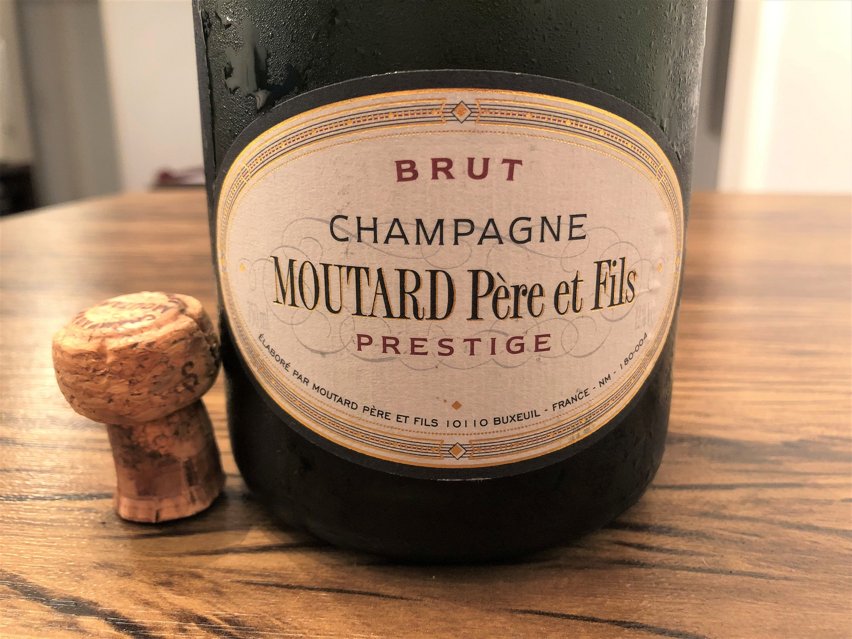 Champanhe Moutard Cuvée Prestige