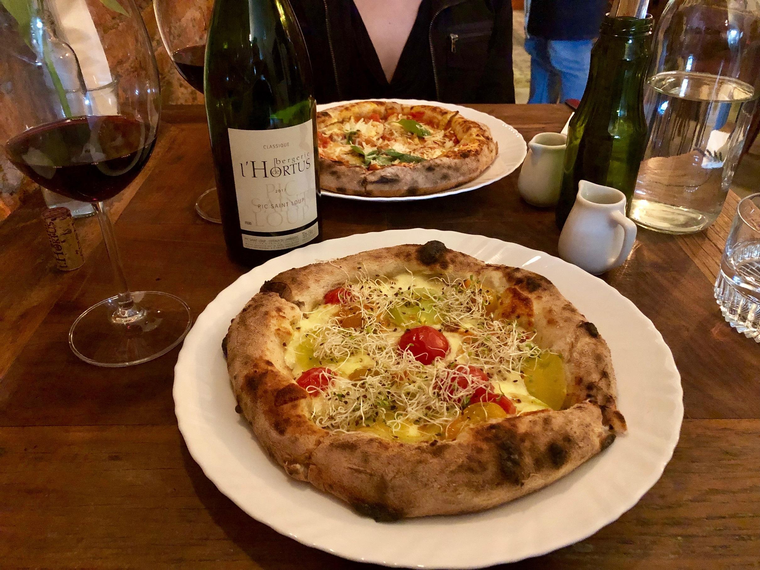 Harmonização tinto pizza