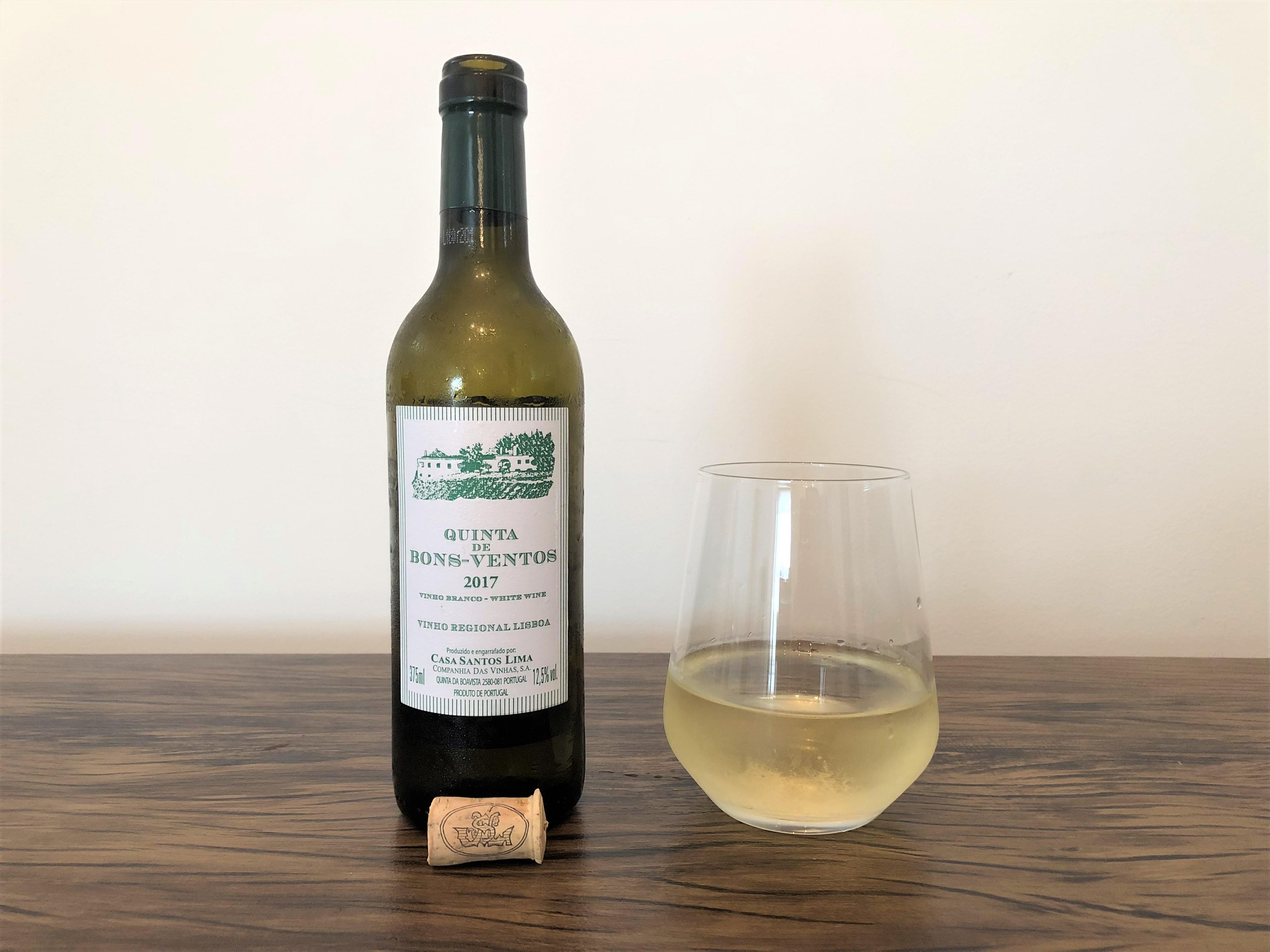 Quinta de Bons Ventos vinho branco 2017