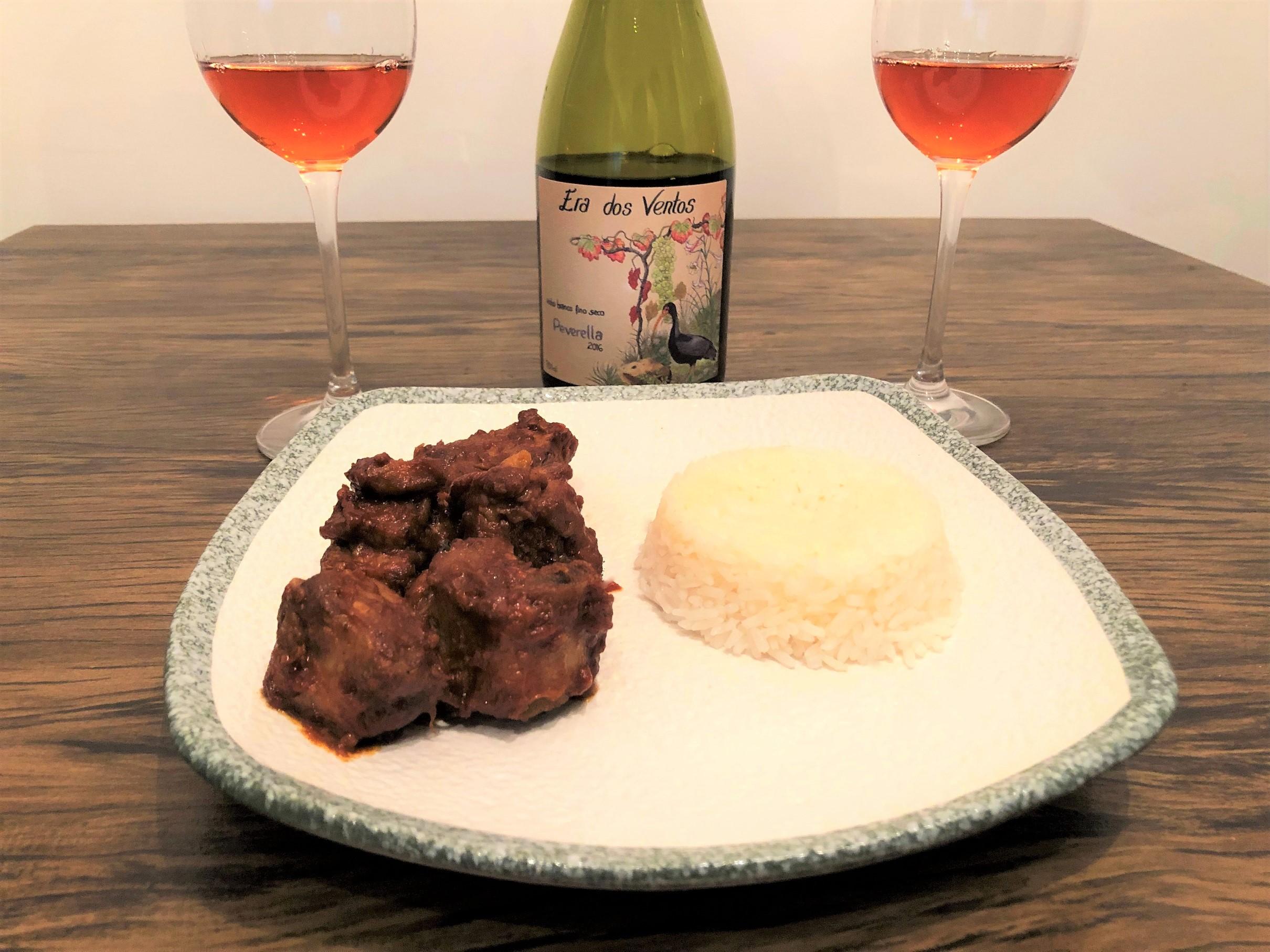 Harmonização vinho laranja carne branca