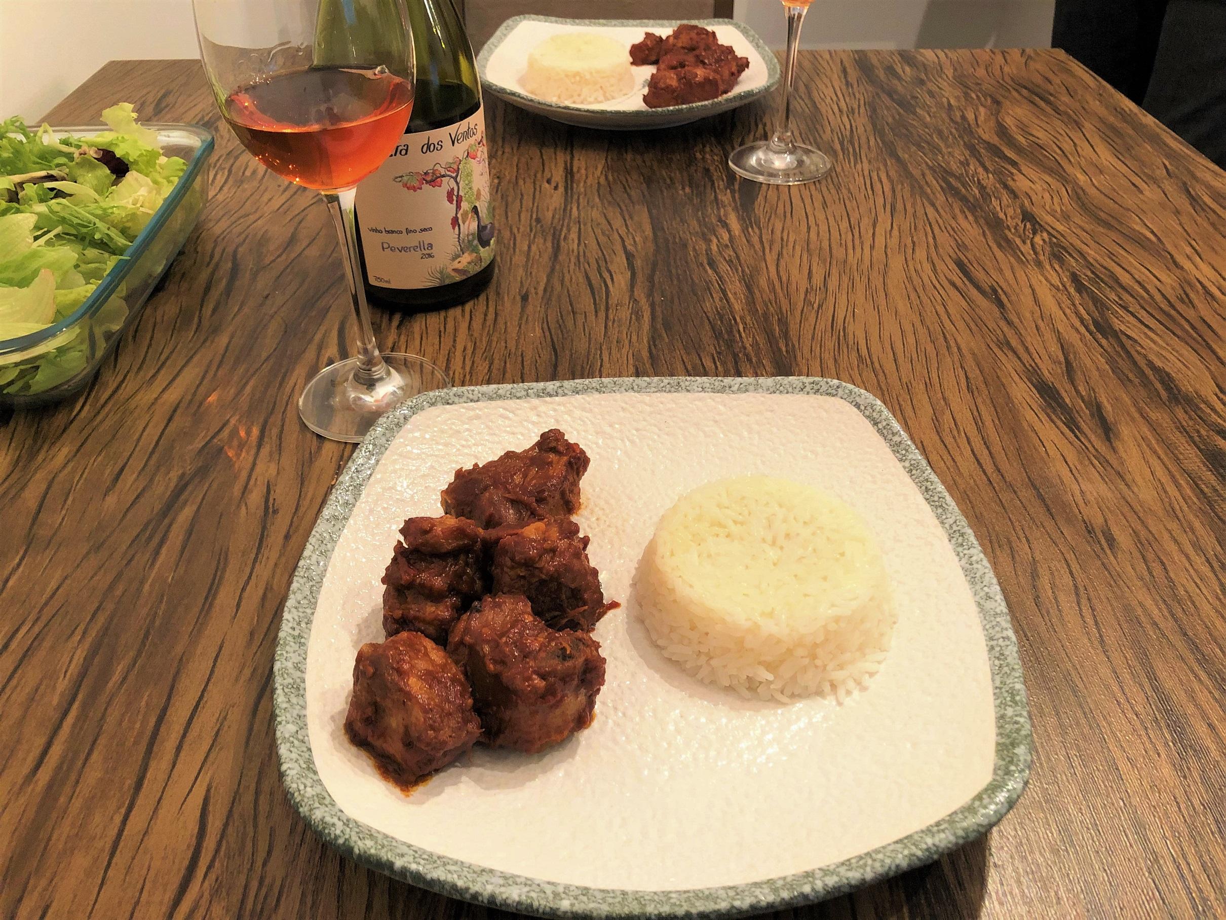 Harmonização vinho laranja carne de porco