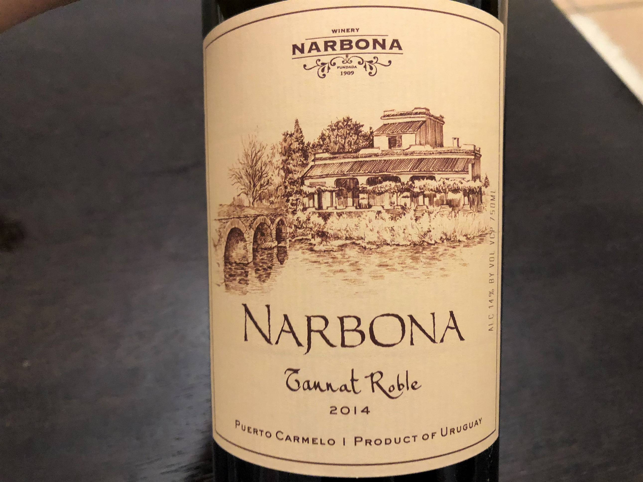 Narbona Tannat Roble