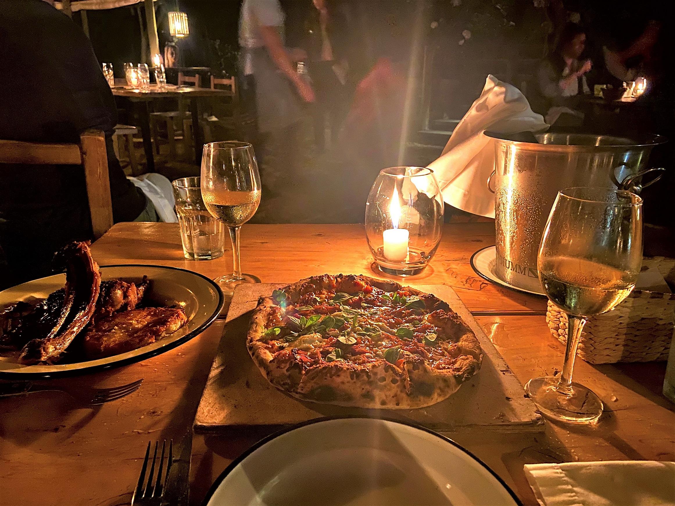 Pizza vinho Albarino Alvarinho