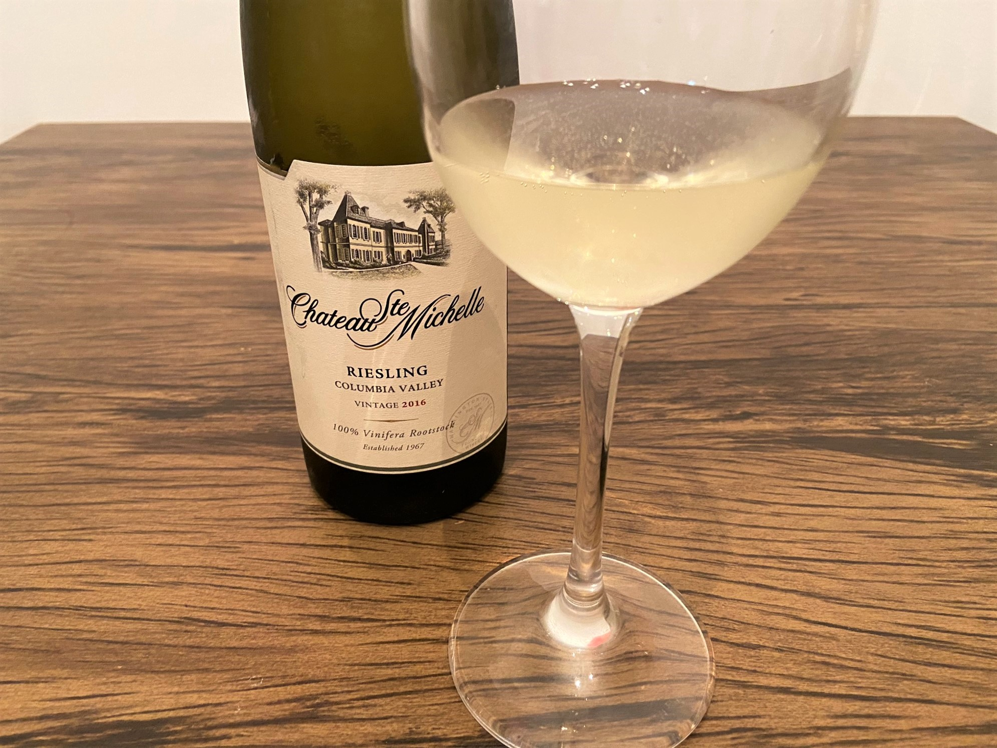 Chateau Ste Michelle Riesling Vintage