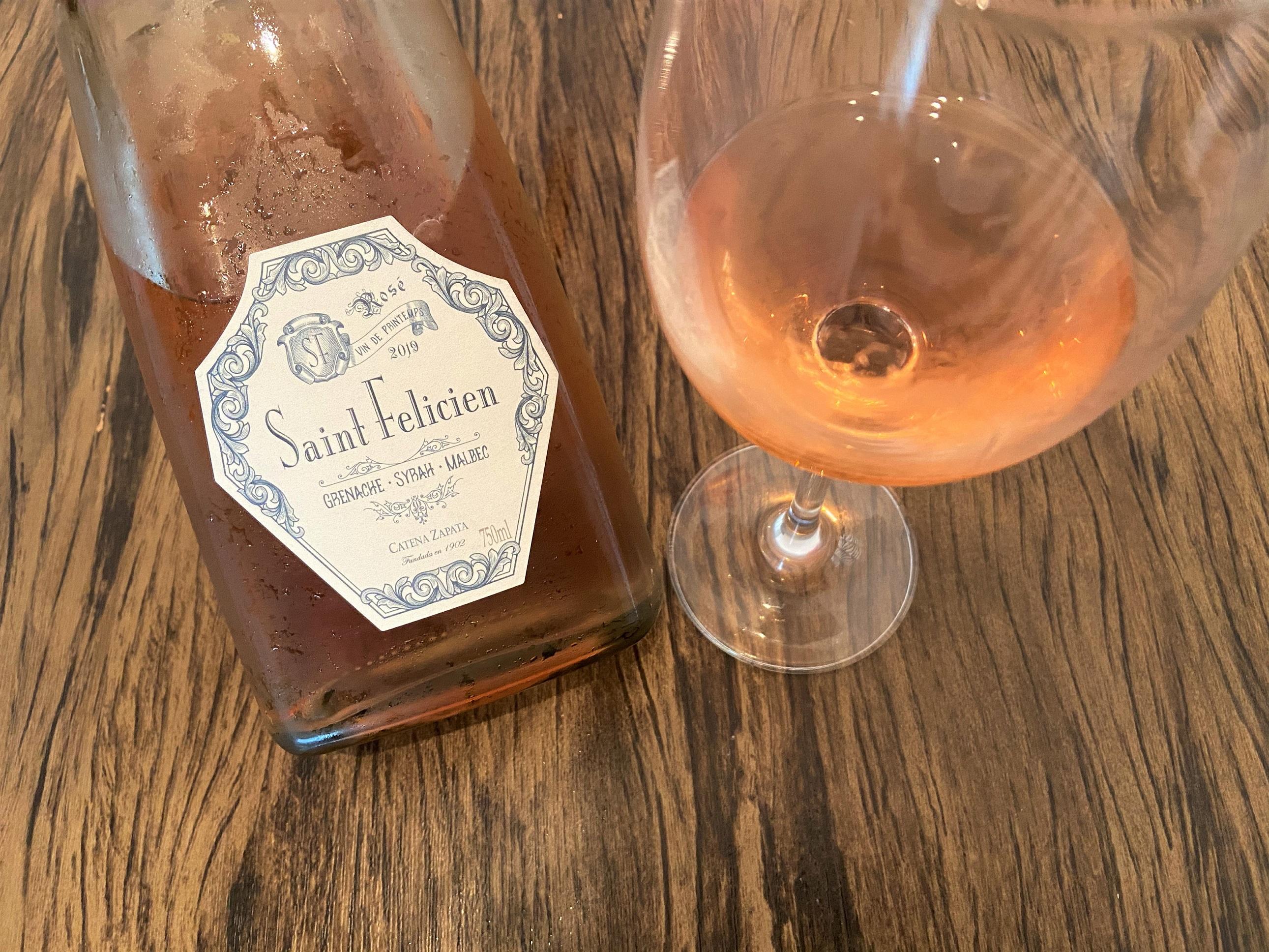 Vinho rosé Saint Felicien