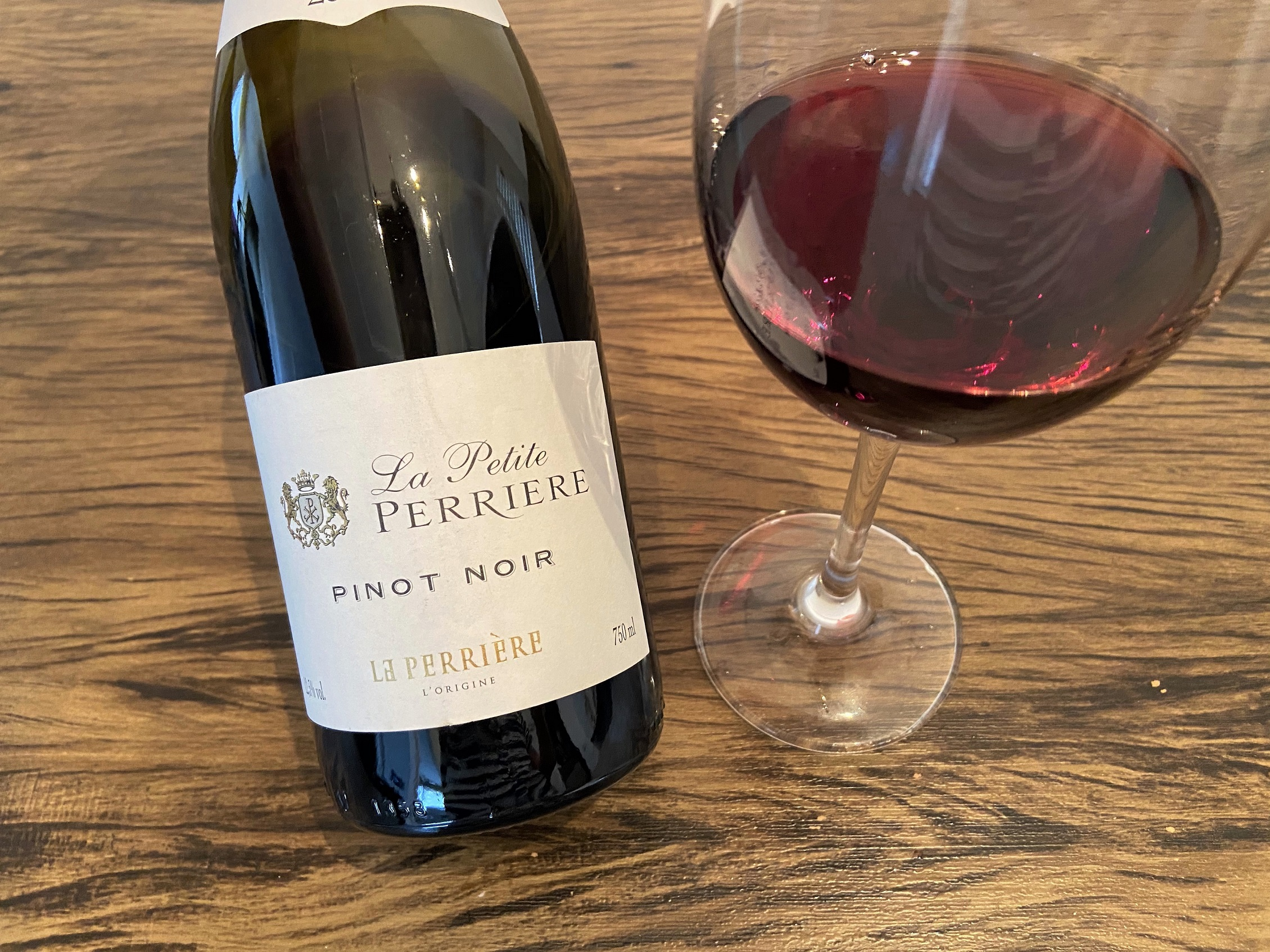 Vinho francês La Petite Perriere Pinot Noir