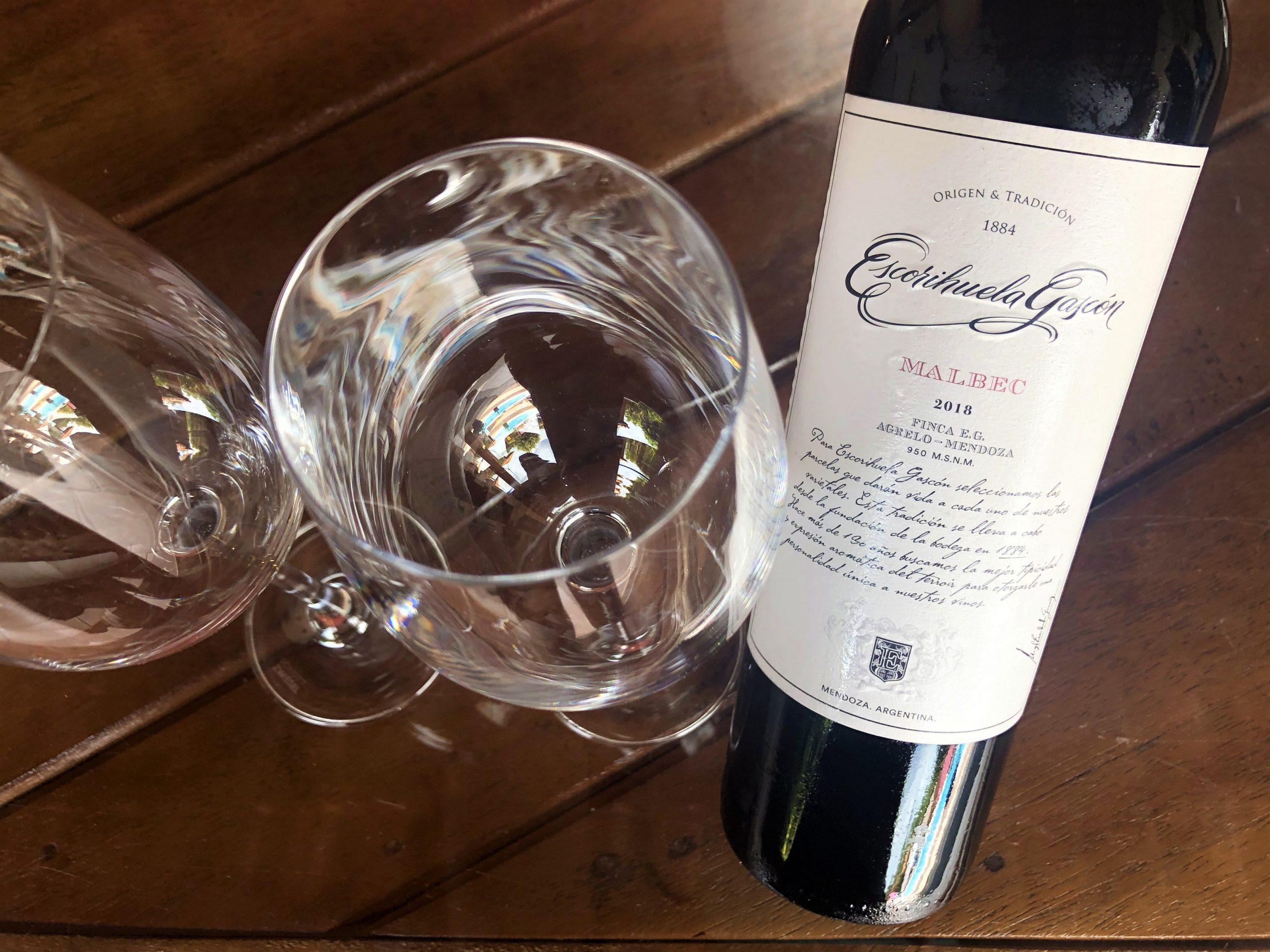 Vinho argentino Escorihuela Gascon Malbec